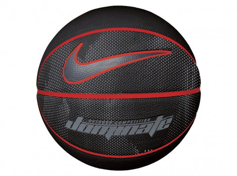 Nike Dominate Soft-Touch Basketball Size 7 Black red