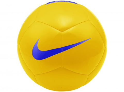 NIKE Pitch Team Football size 3,4,5 - yellow/royal