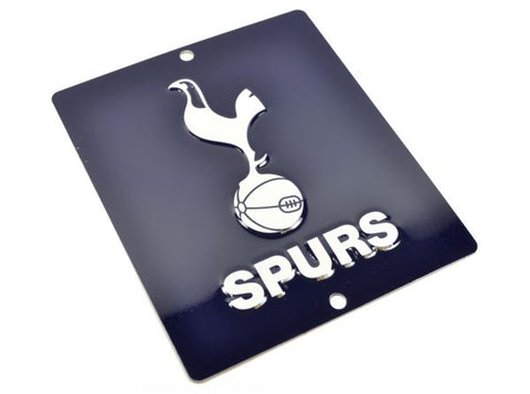 Spurs Coloured Crest Window Sign 14cm x 12cm