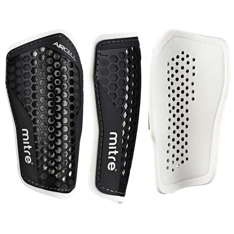 Mitre Aircell Speed shinpads black/white