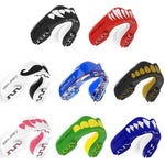 SAFEJAWZ® Extro Series Self-Fit Fangz Gumshield Mouthguard adult or junior Rugby Boxing