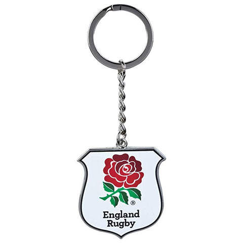 England rugby union crest metal keyring