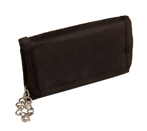 Trifold Polyester Wallet with chain (8003)