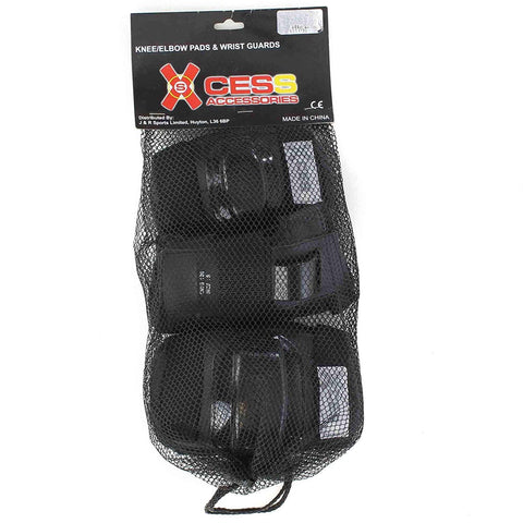 Xcess Child's Skate Protection Set – Black
