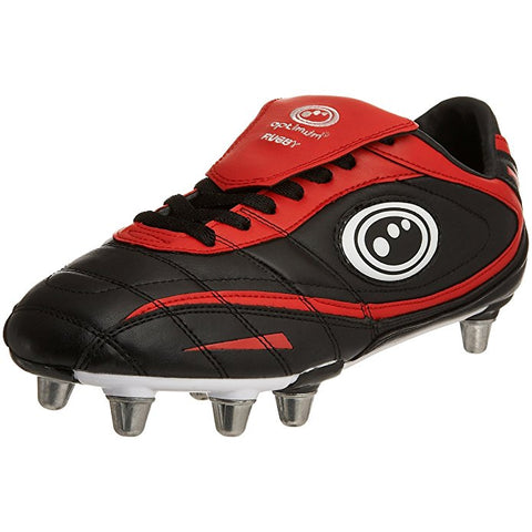 Optimum Men's Inferno2 Rugby boots black red size 7 or 8