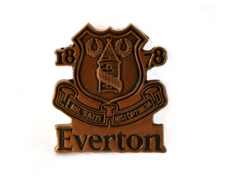 Everton FC large pin badge