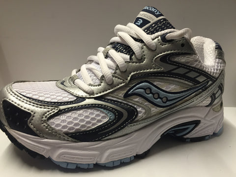 Saucony Grid ladies runners white/navy