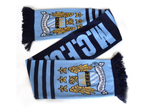 Manchester City FC football team Scarf