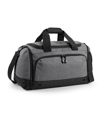 BagBase grey marl sports holdall bag