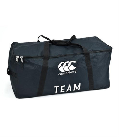Canterbury Rugby Team Large Kit Bag Holdall - Black