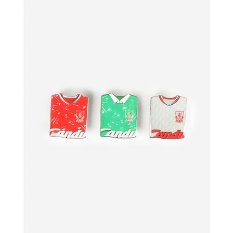 LFC Retro Candy Kit Badge Triple Pack