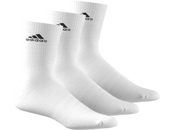 Adidas equipment 3 pack unisex Tennis crew socks white