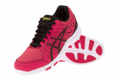 Asics Ayami-Shine ladies trainer - pink/black