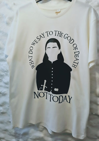 Game of Thrones Arya Stark 'Not Today' unisex T Shirt S-3XL