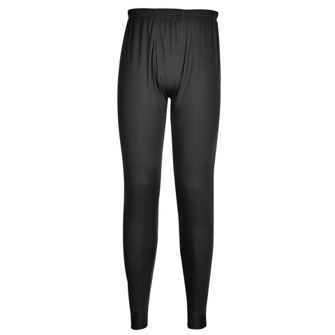 Portwest Workwear B131 - Thermal Baselayer Leggings Black