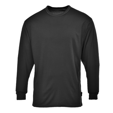 Portwest Workwear B133 - Thermal Baselayer Top Black