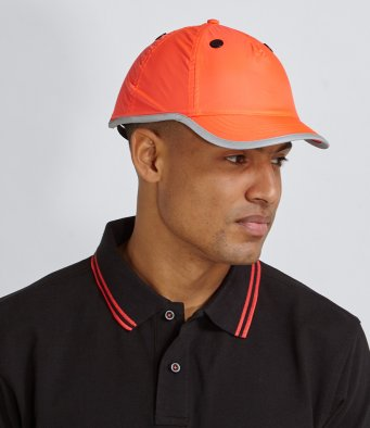Beechfield Workwear Enhanced-Viz EN812 Safety Bump Cap