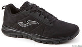 Mens memory foam Black Trainers c.urban 701 by Joma