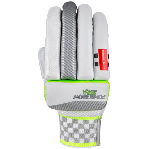 Gray Nicolls Powerbow6x 100 Cricket Batting Gloves Mens medium R/H