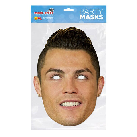 Football player party masks -Various players! fancy dress