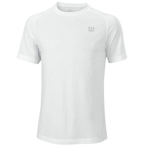 Wilson men's white core crew shirt