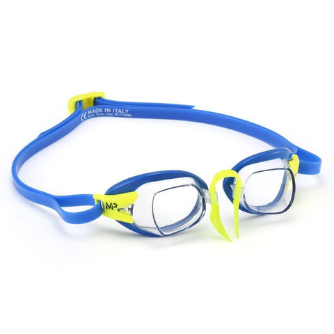 Michael Phelps Chronos Swimming Goggles by aquasphere - blue/lime