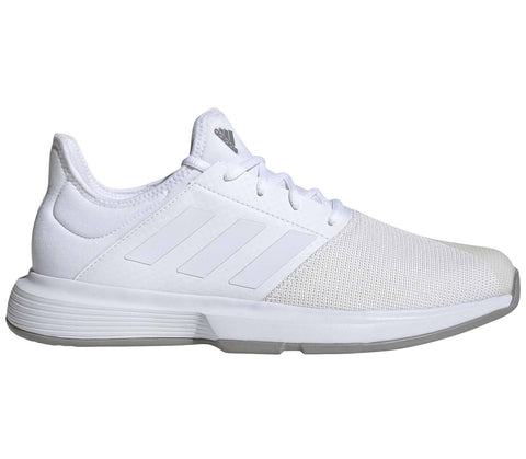 Adidas GameCourt Mens Tennis Trainers - White