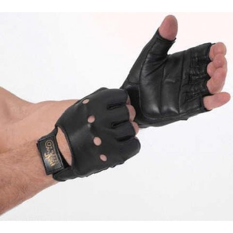 Carta sport weight lifting OR cycling all leather gloves
