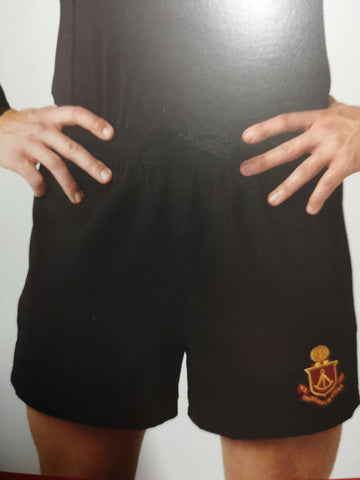 Chadwick Impact Black Ripstop Rugby Shorts