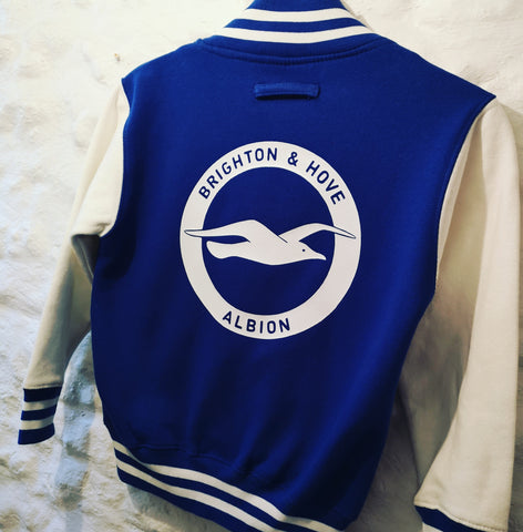 Brighton And Hove Albion Football Club children's varsity jacket