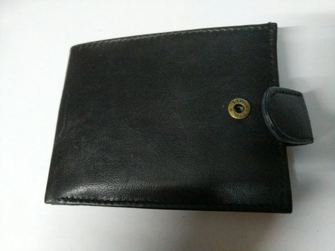 Black Leather Wallet GH Stafford STYLE 1192 RFID Protected