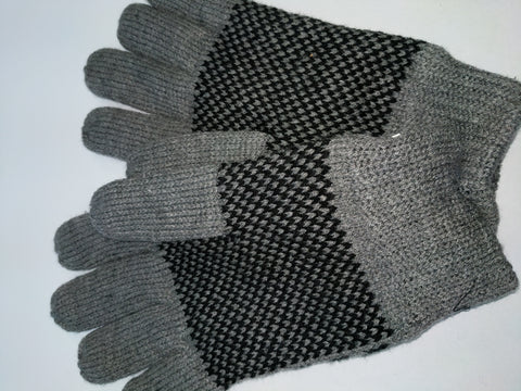 Men/'s Winter Thick Thinsulate Wool Gloves navy or grey options