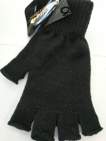 Regatta Unisex Fingerless Woolly Gloves in Black one size