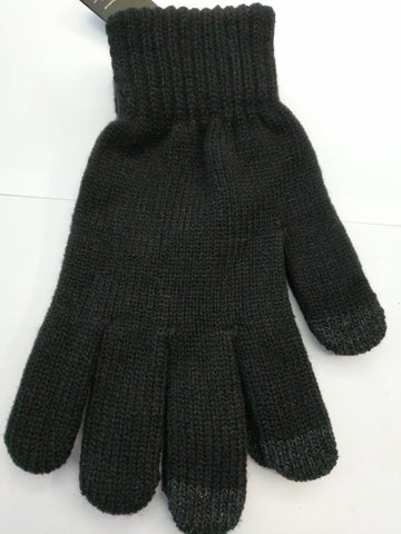 MOBILE phone Use Winter gloves by Beechfield in black