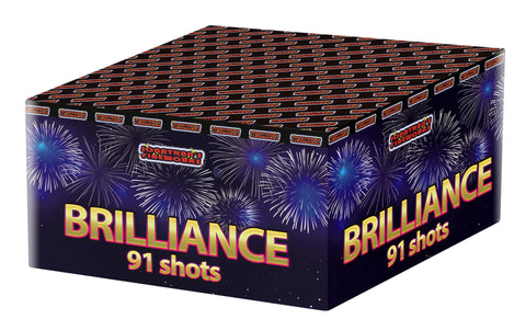 Fireworks- Brilliance Multi shot Cake - 91 shots, 40 seconds