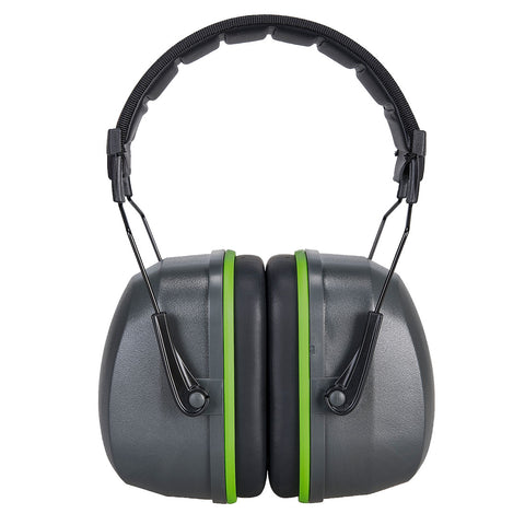 PS46 - Portwest Premium Ear Muff Grey Ear Protector Ear Defender