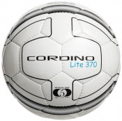 Precision Cordino Lite Match Football AGE 12-14 370g - White/Black Size 5
