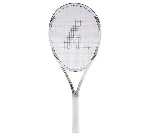 Pro Kennex Carbon pro Titanium graphite Tennis racket green/white unisex