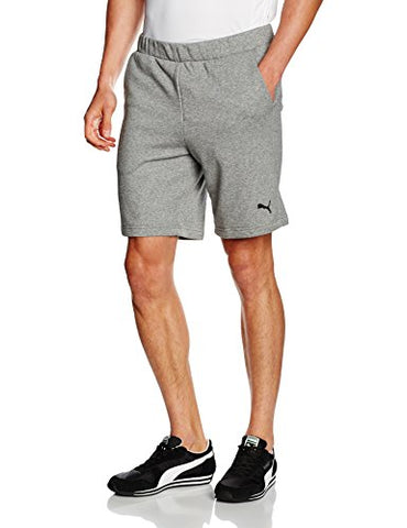 Puma Essentials mens cotton shorts grey or navy