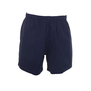 falcon junior rugby shorts navy 28""