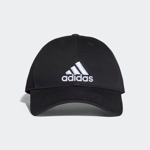 Adidas Baseball 6 panel cap Hat Black and Navy adjustable size
