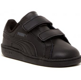 Puma Smash fun infant trainers black kinder fit
