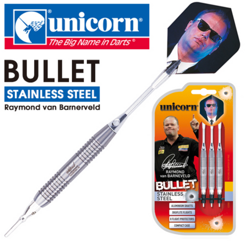 Unicorn Bullet Steel Darts set