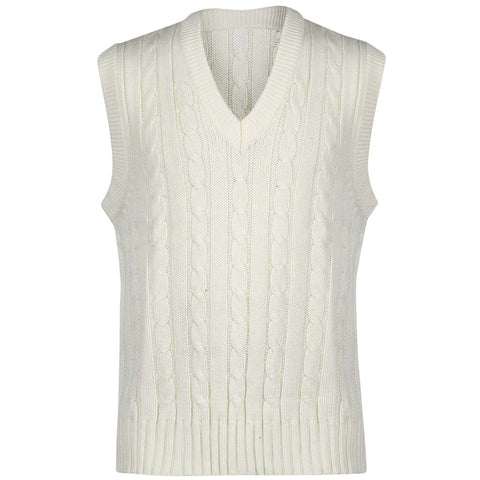 Classic Cricket Mens slip over jumper