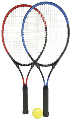 Mantis 25' x2 junior tennis racket set