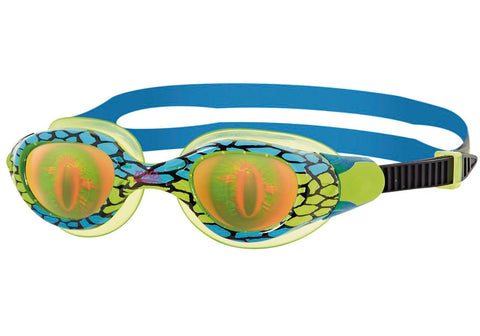Zoggs Sea Demon Hologram Junior Goggles - Age 6-14 years.