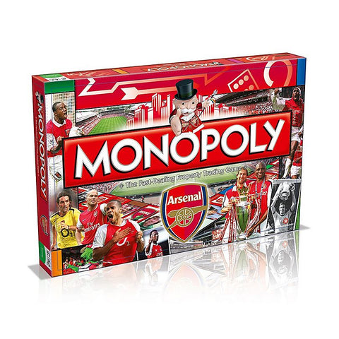 Monopoly ARSENAL FC themed Edition classic Board Game great gift for gooners fans