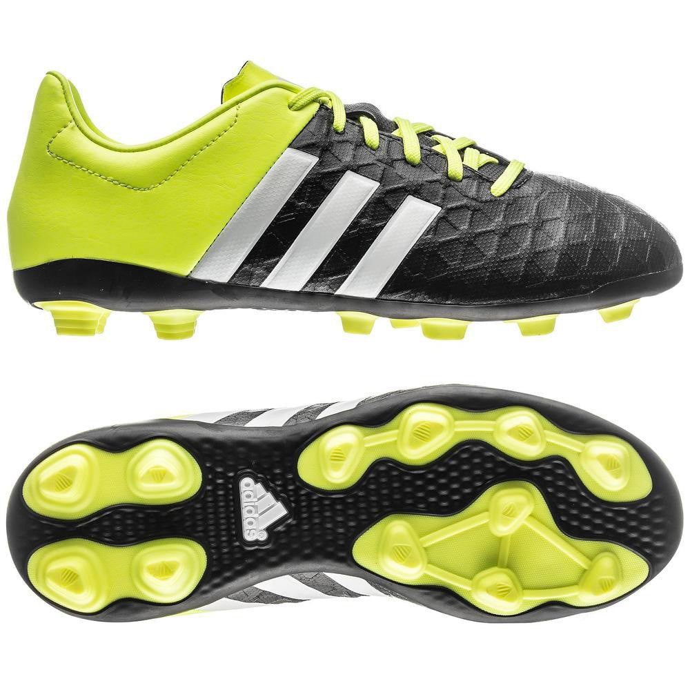 super popular 3f53c 22a72 Adidas Ace 15.4 FxG Junior football boots - moulded stud -  Yellow/black/white
