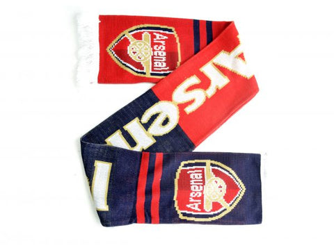 ARSENAL PRIDE OF LONDON JACQUARD KNIT SCARF