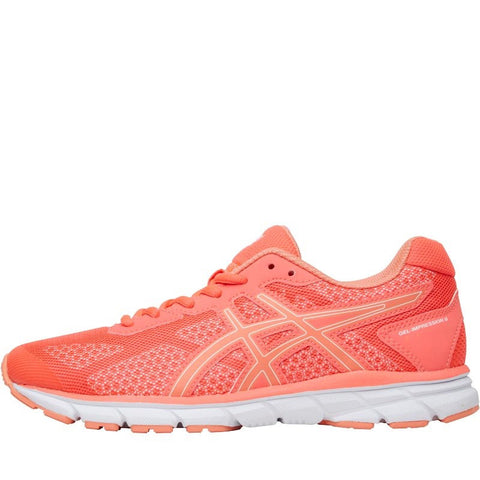 Asics  gel impression 9 -diva pink/coral pink/white ladies trainer